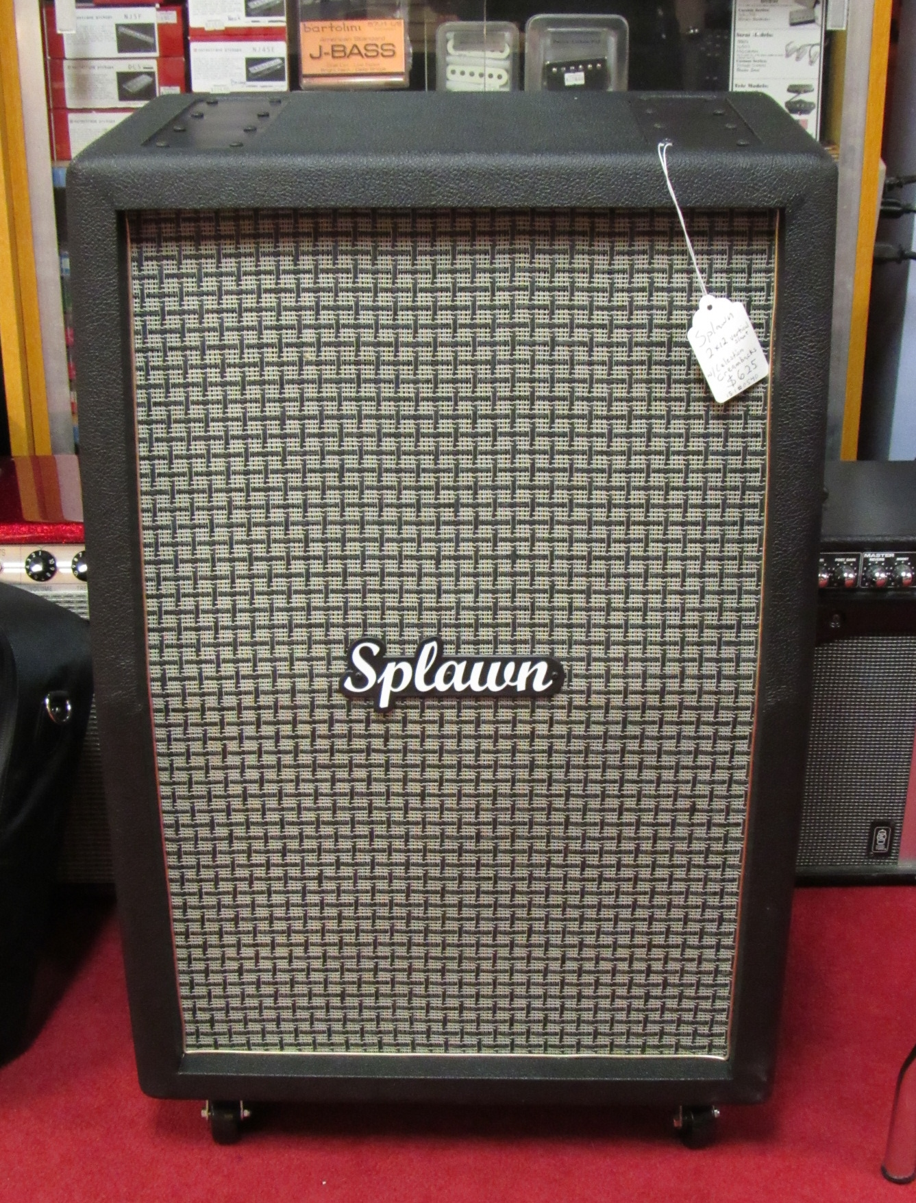 Splawn 2×12 Vertical Cabinet with | Atlanta Discount Music
