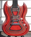 Used Gibson SG Zoot Suit 2009