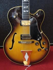 Vintage Aria Pro II HE-175 Archtop HE175 Sunburst