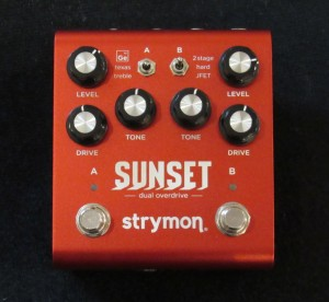 Strymon Sunset Overdrive in stock