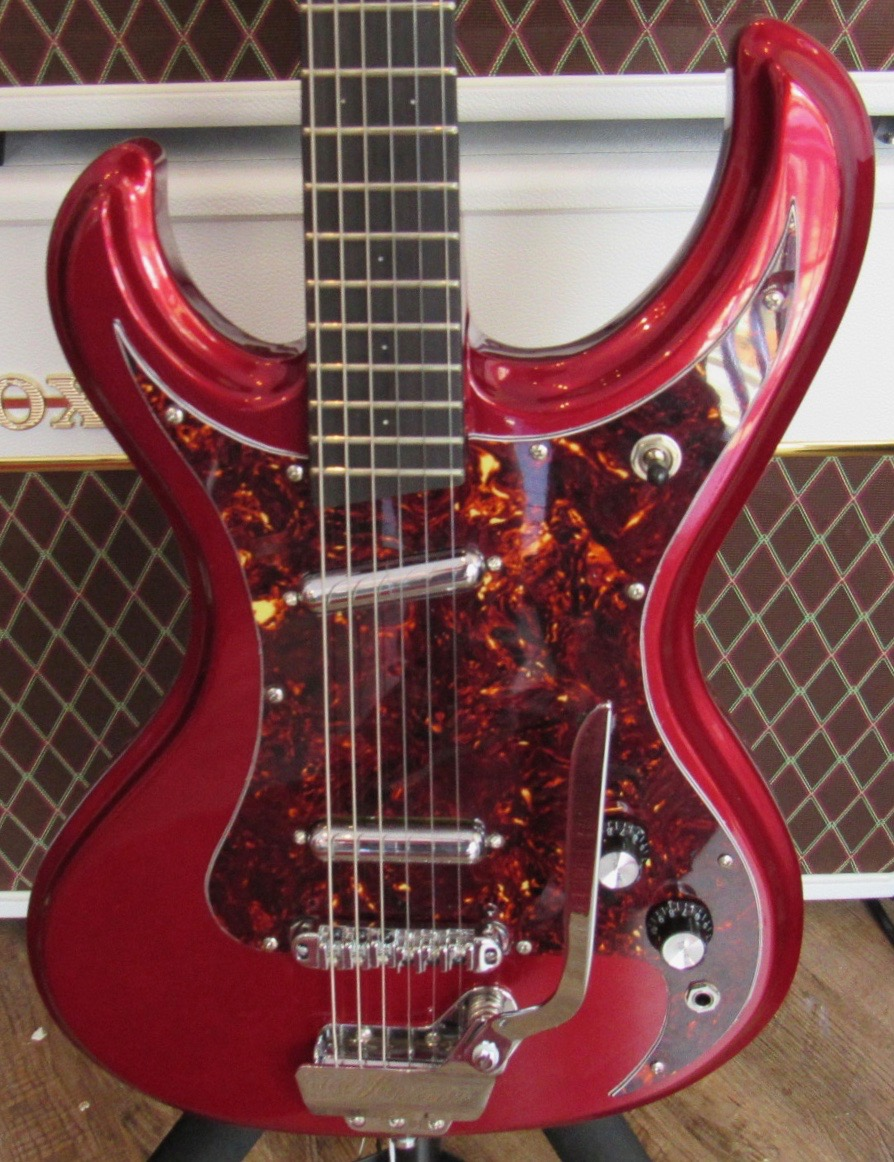 Used Eastwood with Custom PIckguard and Lipstick Pickups