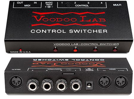 Voodoo Lab Control Switcher   Atlanta Discount Music